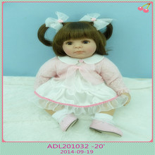20 inch 50 cm  reborn Silicone dolls, lifelike doll reborn babies toys  Lovely girl