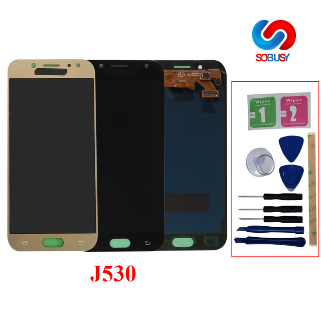 Sobusy LCD For SAMSUNG Galaxy J5 Pro 2017 J530F SM-J530F LCD Display Touch Screen Digitizer for samsung j5 pro LCD Pantalla Tela