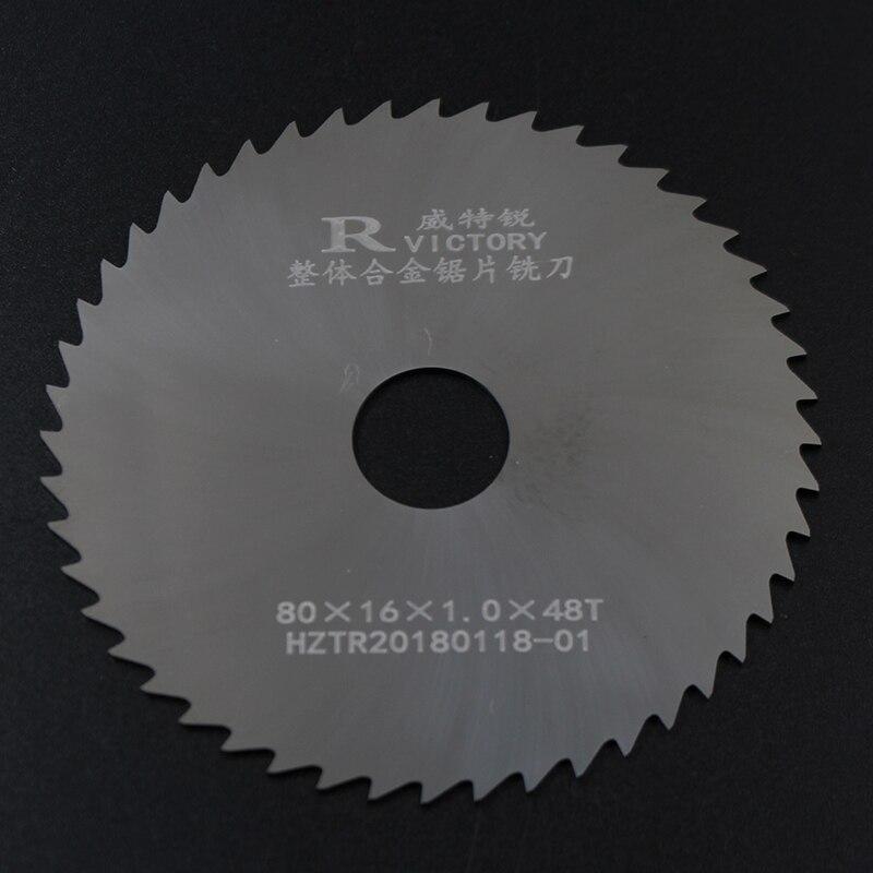2Pcs Diameter 80mm Saw Blades Tungsten Steel Cutting metal circular saw blades Cutting Tool High Quality