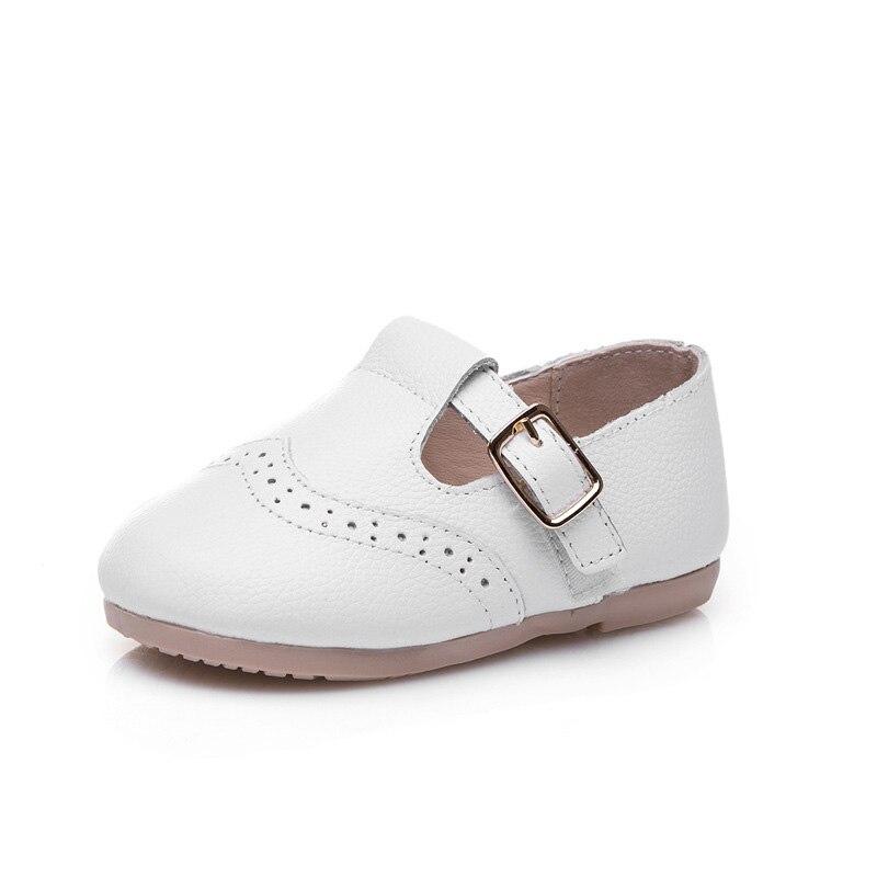 7f5f2bbd77647 الفتيات حزب أحذية الزفاف جلد طبيعي طفل الفتيات حذاء الأميرة 1-6 سنوات طفل  الأحذية zapatos بلانكو نينا TX172