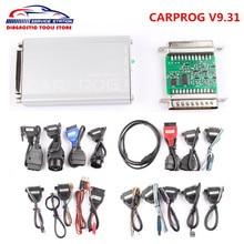 Лучшая Цена Последней V9.31 Carprog Полный Комплект Подушка Безопасности/Радио/Даш/IMMO/ECU Автомобилей Прог Программист Авто Repair Tool Бесплатная Доставка