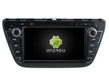 NAVIRIDER Eight Core 4GB RAM Android 6.0.1 car multimedia player for SUZUKI S-CROSS 2013-2015 car dvd gps BT radio stereo USB