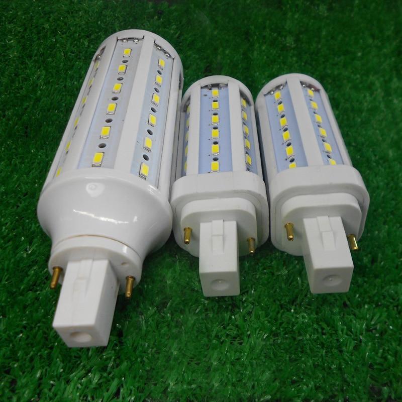 g24d-1 g24d-2 g24d-3 g24 led light 5W 7W 9W Lampara Bombillas PL SMD 5730LED Light AC110V/220V 85-265V