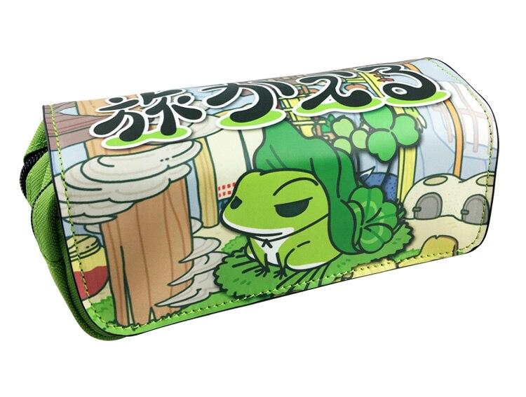 Japanese Game Travel Frog Unicorn Boys Girls Cartoon Pencil Case Bag School Pouches Children Pen Bag Kids Purse Wallet