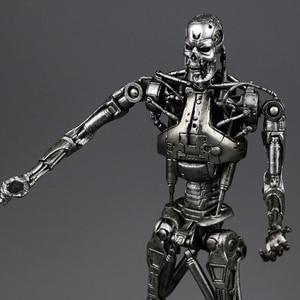 """Image 1 - NECA figura de acción de Terminator 2, caja nueva, envío gratis, T800, Cyberdyne, Showdown, juguete de figura de PVC, 7 """", 18cm"""