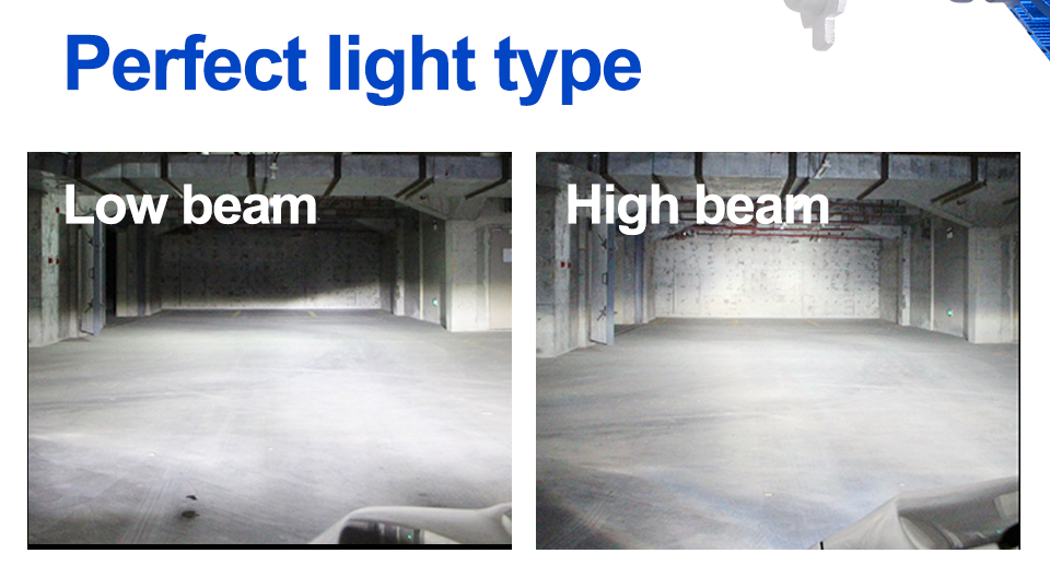 H4 Led CSP Chips H7 LED Headlights Auto-styling Led Car Bulb H1 H11 Fog Lamp Fanless (8)