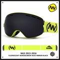 Nova nandn marca uv400 óculos de esqui duplo anti-fog grande máscara de esqui snowboard óculos óculos de esqui de neve homens mulheres