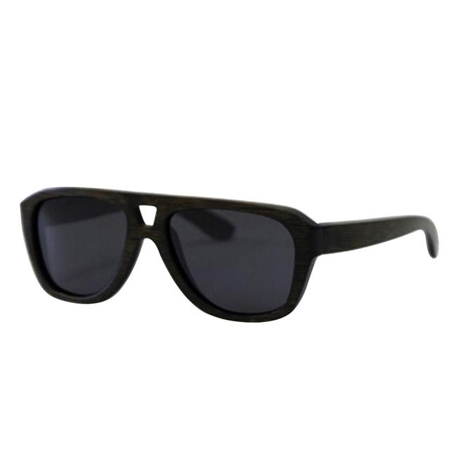 De Bambú de madera gafas de Sol Polarizadas lente gafas de sol