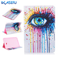 Coque Fundas for Galaxy Tab A A6 10.1 inch SM-P583 P580 P585 PU Leather Case Cover for Samsung P580N SM-P580 SM-P585 10.1' Paint