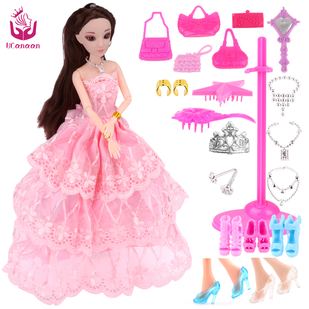 Ucanaan nuevo favorito princesa muñeca de moda partido vestido de ...