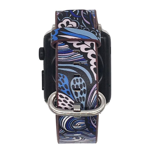 Floral Print Band for Apple Watch 5