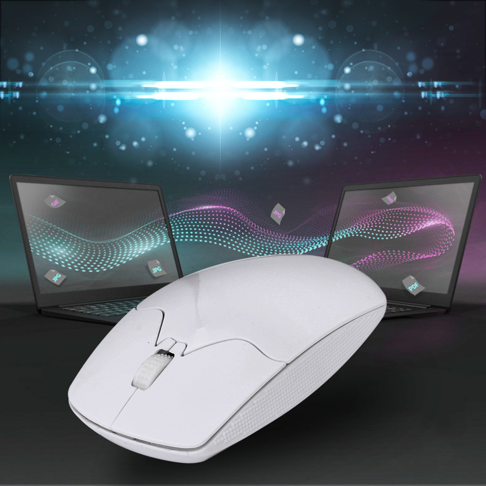 EPULA 2019 Fashion Wireless Mouse  2.4GHz 3D Wireless Optical Mouse Gaming Mouse For PC Laptop Game NYE30