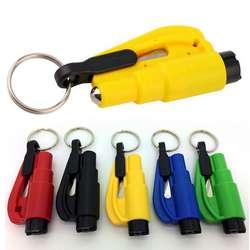 Лидер продаж! 3 в 1 аварийный мини-молоток безопасности авто Окно Стекло Выключатель ремень безопасности аварийный молоток Аварийный
