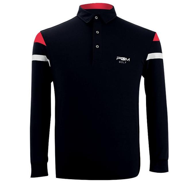 c9a33eab0 PGM 2018 High Quality Dry Fit Polomens Men Polo Shirts Quick Dry Long Sleeve  Tshirt Ropa De Golf Clothing Men Table Tennis Shirt