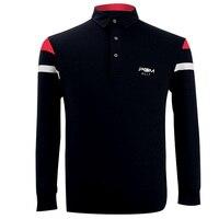 PGM 2018 High Quality Dry Fit Polomens Men Polo Shirts Quick Dry Long Sleeve Tshirt Ropa De Golf Clothing Men Table Tennis Shirt