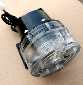 Image 4 - D5 12v 물 냉각 펌프는 알루미늄 합금 덮개를 가진 물 냉각을 위해 사용한다, P/N:WC PUMP12V D5RDL2