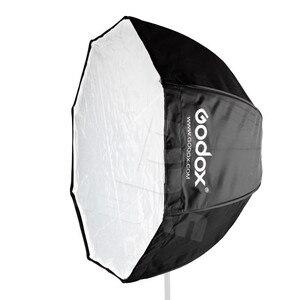 Image 5 - 120 cm/47in Godox Taşınabilir Sekizgen Softbox Şemsiye Speedlight Flaş için Brolly Reflektör