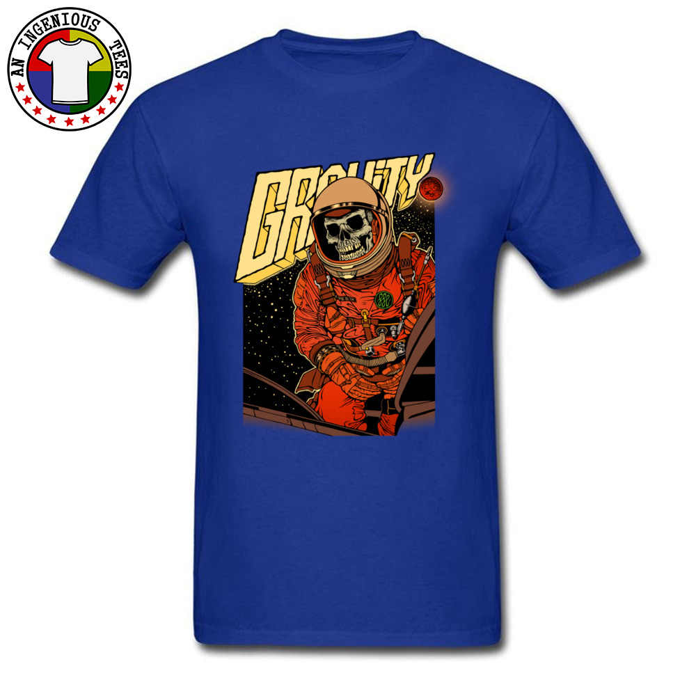 Galaxy Tengkorak Kosmonot Astronot Tshirts Federasi Rusia Pro Kitty Keren T Kemeja Pria 2019 Musim Semi Terbaru Deisgners T-shirt Pria