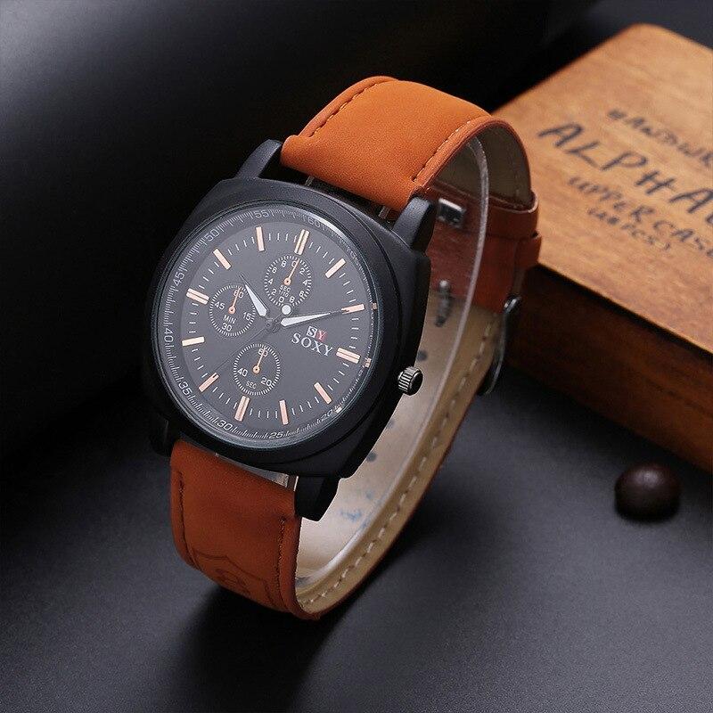 wysokiej jakości zegarki męskie męskie Wrist Watch Quartz - Męskie zegarki - Zdjęcie 1