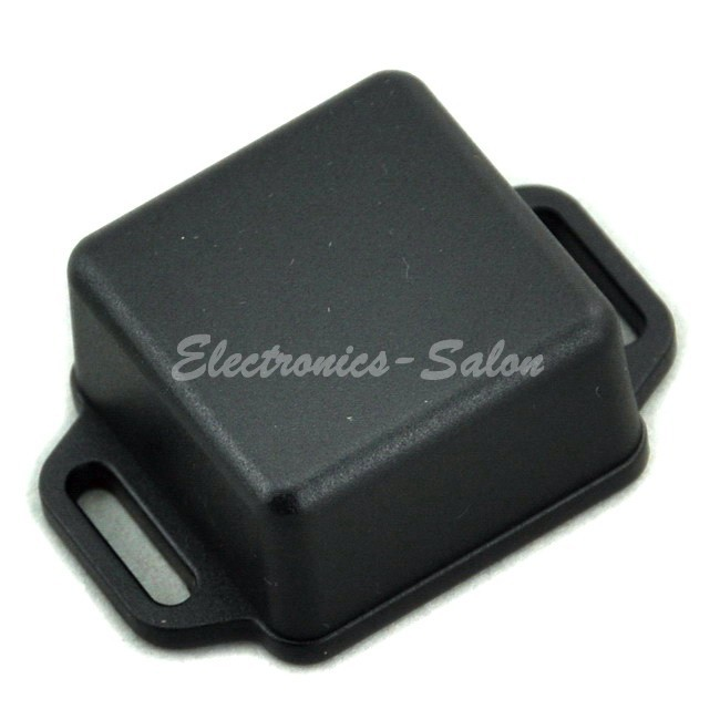 Small Wall-mounting Plastic Enclosure Box Case, Black,36x36x20mm, HIGH QUALITY.