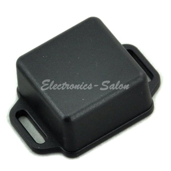 Small Wall-mounting Plastic Enclosure Box Case, Black,36x36x20mm, HIGH QUALITY.