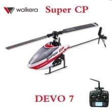 Walkera Súper CP Con DEVO 7 Transmisor 2.4 Ghz 6CH 3D RC Helicopter RTF