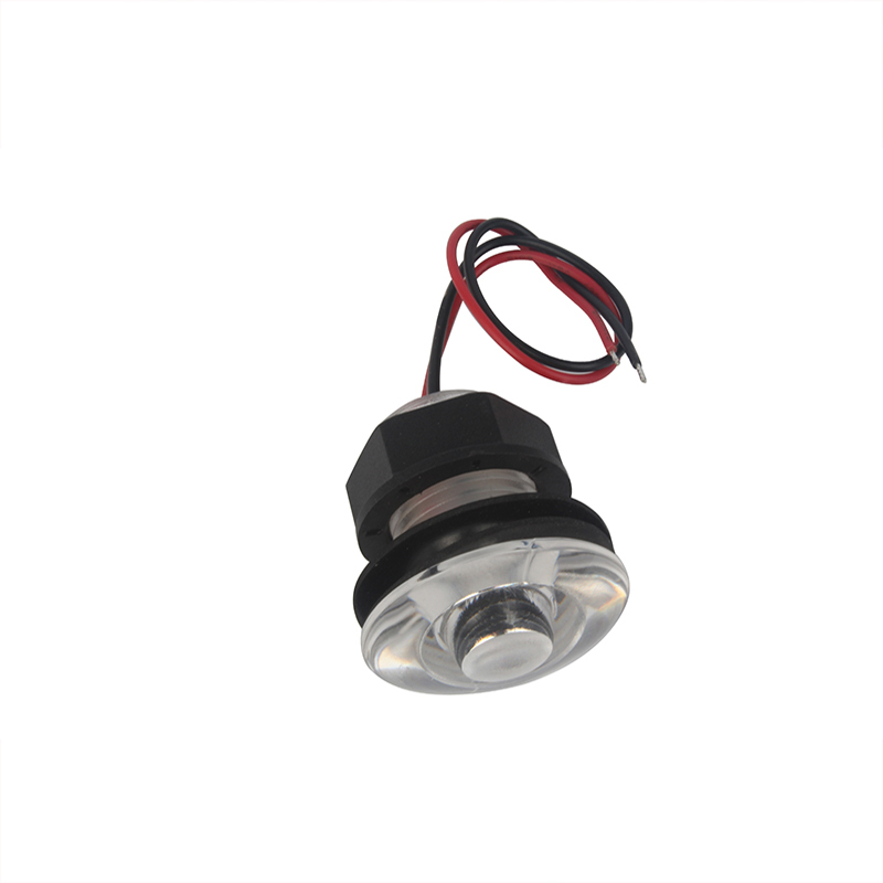 Image 4 - 12V Marine Boat LED Light 38mm RV Courtesy Hallway Submersible Light Waterproof-in Marine Hardware from Automobiles & Motorcycles