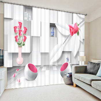 Art Of The House Bedroom Living Room Kitchen Home Textile Luxury 3D Window Curtains Gift For Family
