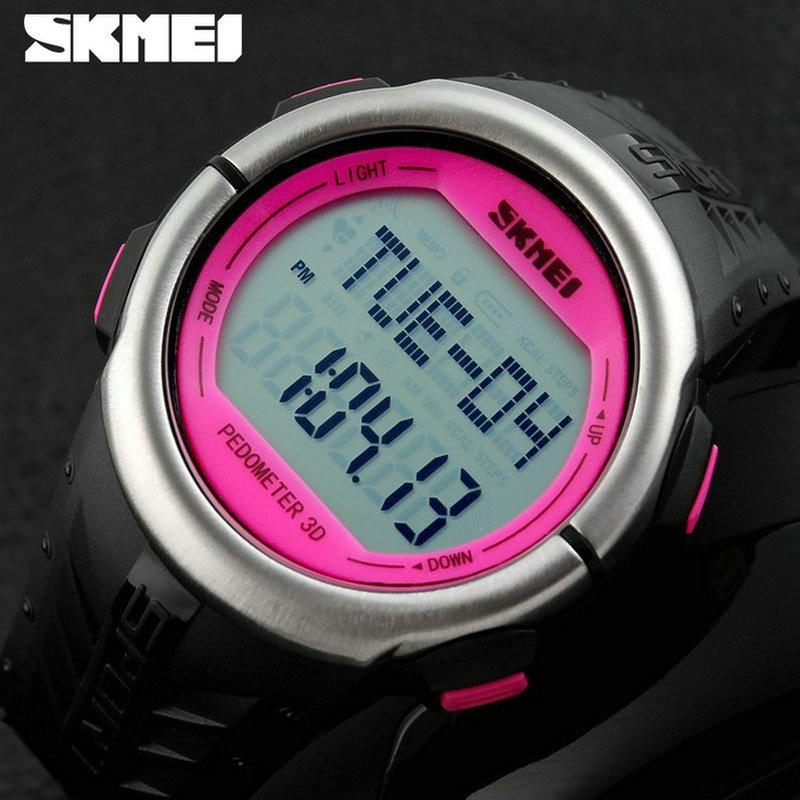 ФОТО New Heart Rate Monitor Led Digital Sport 50m dive Women Men Pedometer wrist smart watch Calories Counter Fitness outdoor Sports