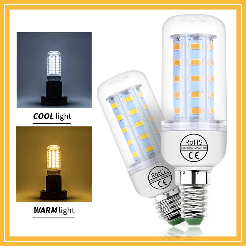 Lampadina GU10 lampada a Led a mais E14 220V lampadina a Led E27 lampadario a Led a candela 3W 5W 7W 9W 12W 15W B22 ampolla domestica SMD 5730