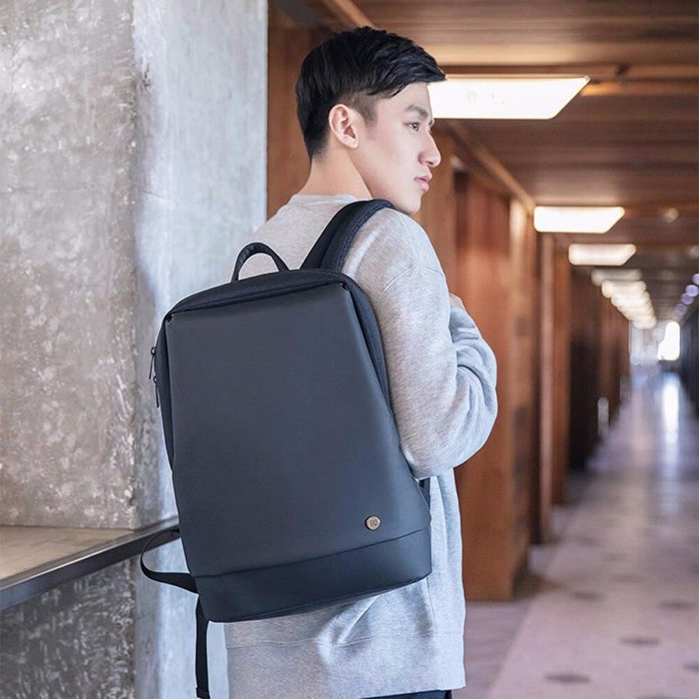 Neue 90Fun Stadt Business Rucksack Männer Reise Laptop Tasche Für 15,6 Zoll Minimalistischen Stil Studenten Hohe Kapazität Schul - 2