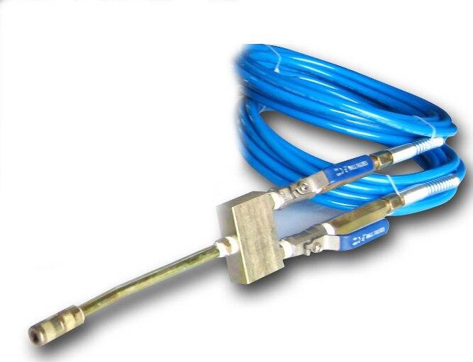 APPLICATION de réparation à domicile pour deux éléments 2 tuyaux + deux vannes d'injection et une buse prête