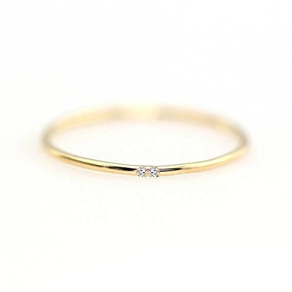 ZHOUYANG кольца для женщин с микро-вставками из кубического циркония тонкое кольцо на палец модное Ювелирное кольцо KCR101 - Цвет основного камня: Light Gold Color 105