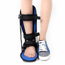 Medical Foot Drop Splint Ankle Support Guard Sprains Injury Brace Ankle Splint Fasciitis Heel Pain BB55
