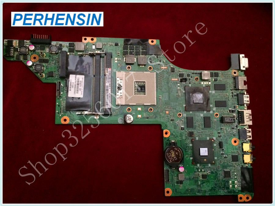 For HP For Pavilion DV6-3008TX DV6-3000 Motherboard HD5650 615278-001 100% tested good 509450 001 motherboard for hp pavilion dv6 daut1amb6d0 tested good