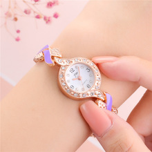 Simple lady bracelet watch quartz wristwatch luxury watch women popular Quartz Alloy Simple Leather bracelet watch rose gold все цены