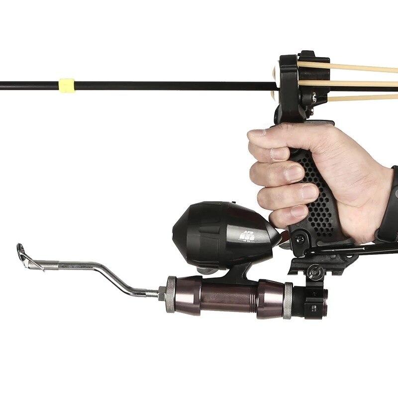 Siciwinni puissant tir à l'arc multifonction tir à l'arc tir à la fronde tir catapulte chasse arc pêche kit de fronde