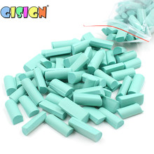 70pcs Sponge Chunks Addition for Slime Supplies Lizun Accessories Filler Charms for Slime Bead Foam Clay Mud Decoration(China)