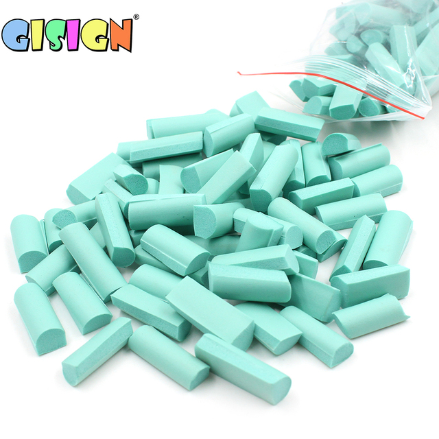 70pcs Sponge Chunks Addition for Slime Supplies Lizun Accessories Filler Charms for Slime Bead Foam Clay Mud Decoration