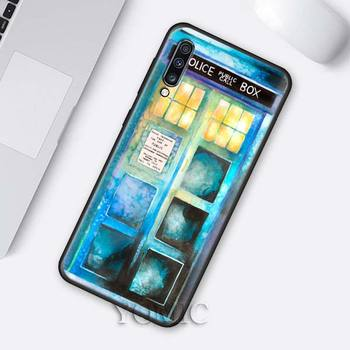 Tardis door Water Colour Doctor Who Phone Cover for Samsung  1