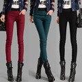 2017 New Women Calcas Femininas Long Casual Small Leg Opening Trousers Plus Size Pants Flare Cotton leggings