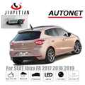 jIiaYiTian Rear View camera For SEAT Ibiza FR 2017 2018 2019 5D backup cam CCD Night Vision license plate camera Reverse Camera