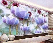 lotus Modern large beibehang