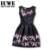 Vestidos de las muchachas del Verano 2017 Niños Vestidos Para Niñas De 12 Años Sin Mangas Impresa Vestido de Princesa Adolescentes vestidos de nuevo estilo 14