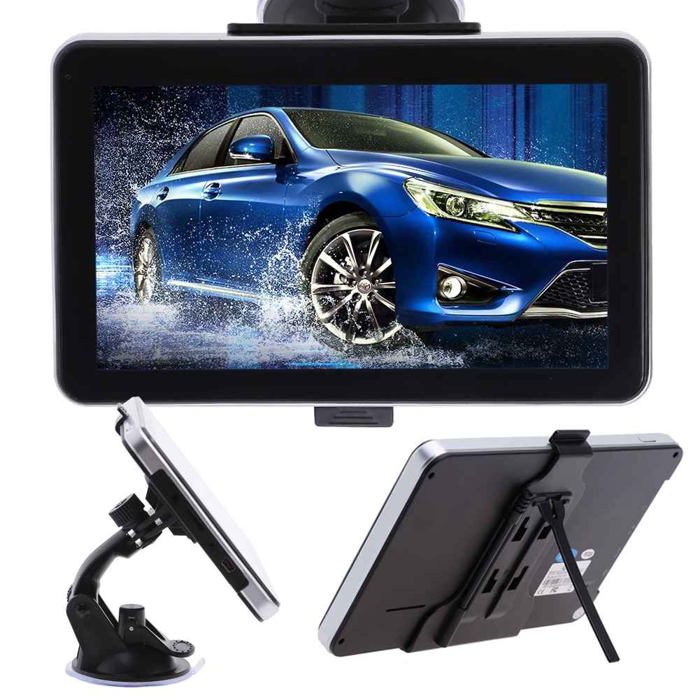 8G 7 inch Car GPS Navigation FM Touch Screen Navigators Automobile Vehicle gps sat nav Free maps Upgrade Europe GPS Navigators 4 3 inch car gps sat nav voice navigation 8gb fm mp3 mp4 ebook free uk eu au nz maps update