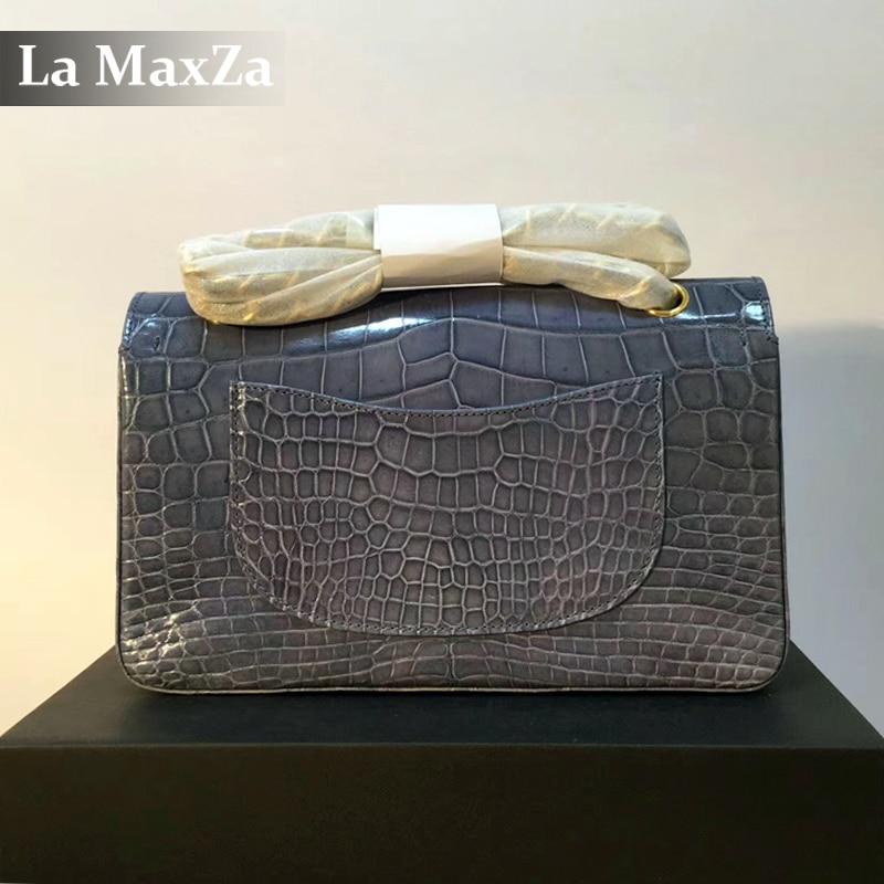 2017 women s luxury crocodile font b handbag b font
