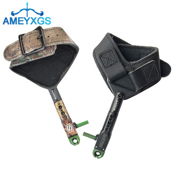 1pc Archery Compound Bow Wrist Release Aids 360 Rotating Caliper Straps Trigger Release For Bow Shooting Hunting Accessories