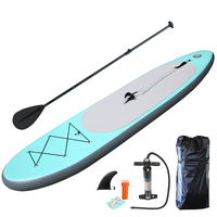 High quality Aqua green Inflatable Sup Board Stand Up Paddle Board Inflatable Surfboard