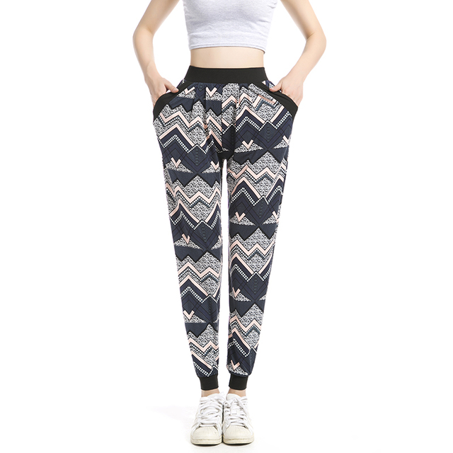 Harem Pants Women Pantalones Mujer Pants Women Sweatpants Ethnic Plus Size  Jogger Pant Casual long Sweatpant 1c565e160de0