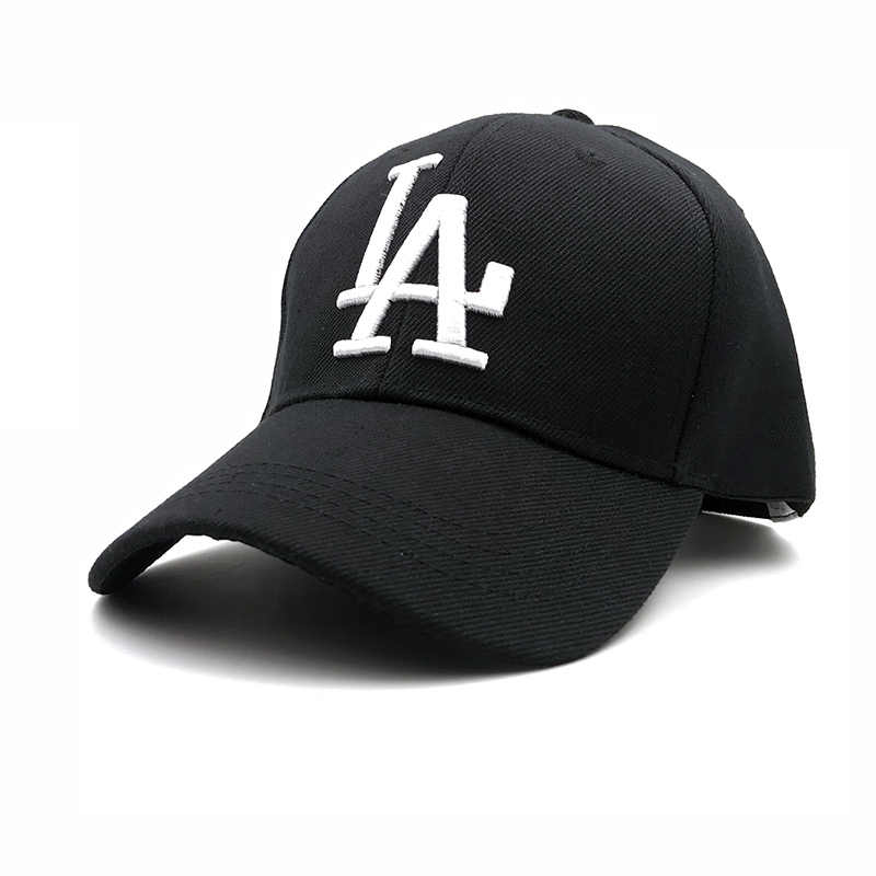 a1a14845bc1 2018 New letter Baseball Caps LA Dodgers Embroidery Hip Hop bone Snapback  Hats for Men Women